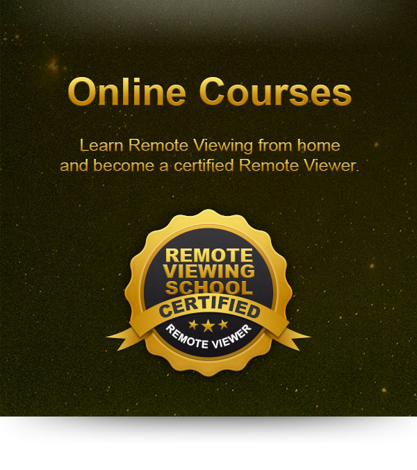 Find the Online Course that's right for you to learn Remote Viewing from home in order to become a certified Remote Viewer.